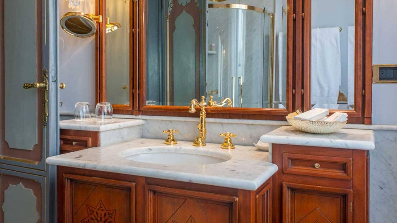 Bagno hotel 5 stelle lusso