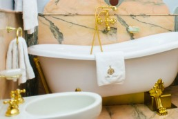 bagno camera villa crespi