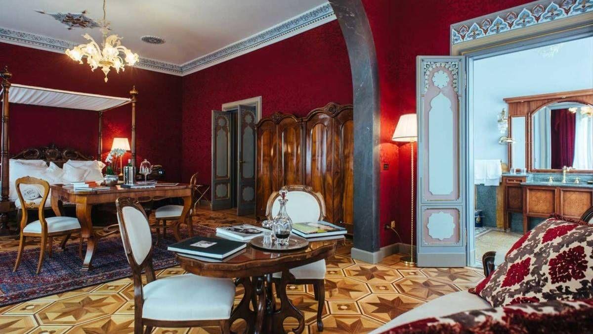 Suite villa Crespi