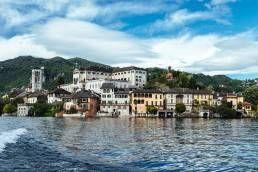 Giro in barca con aperitivo Villa Crespi