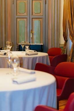 Il ristorante Villa Crespi