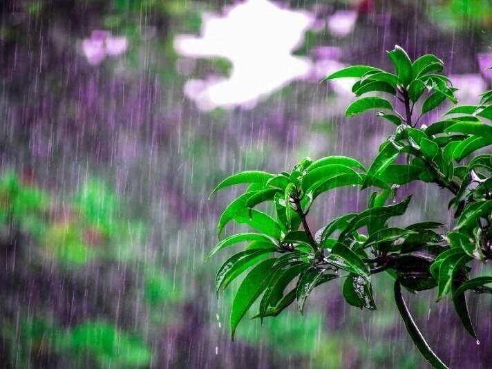 lago Orta con la pioggia