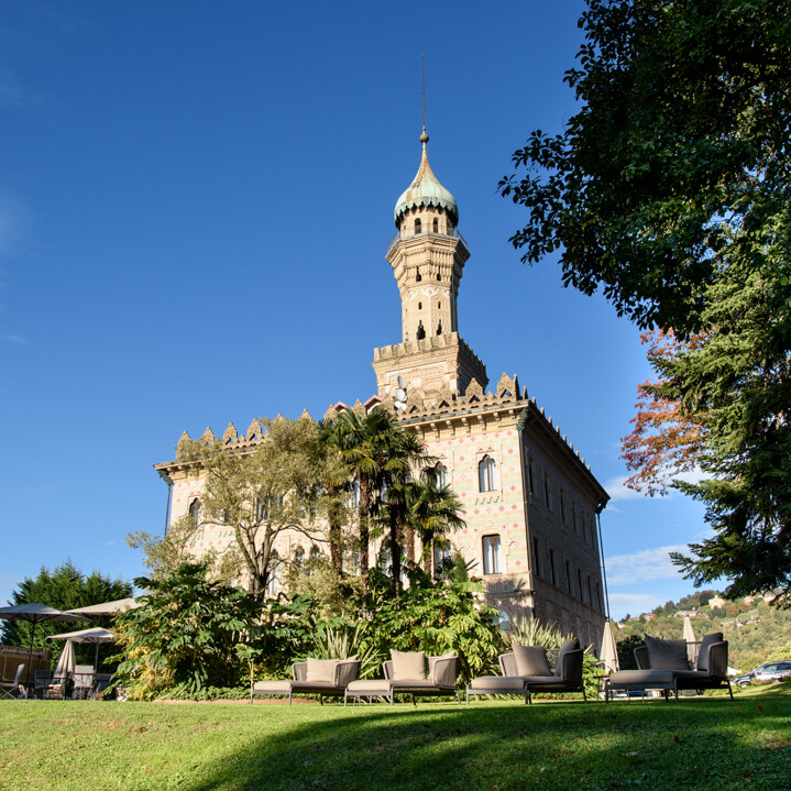 Villa Crespi Esterno